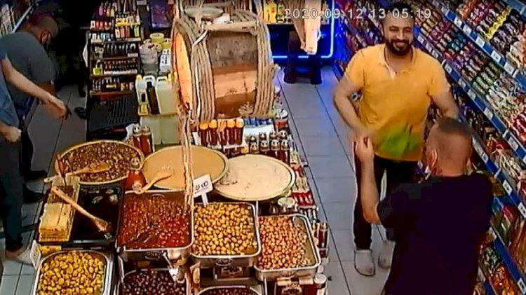 VİDEO- Bu markete gelenler dans etmeden çıkmıyorlar