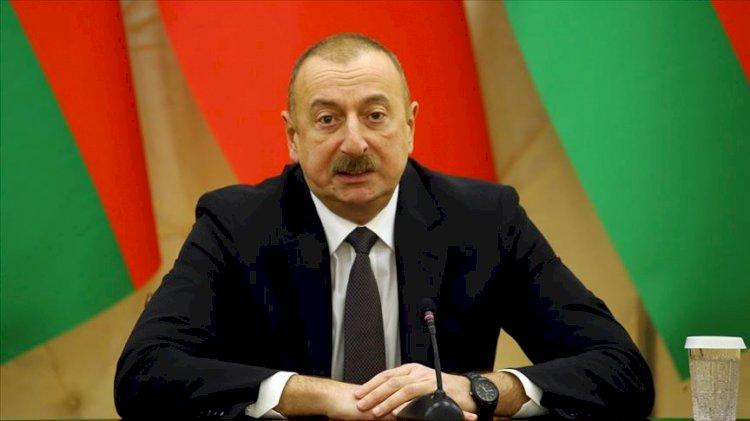 Aliyev'den cephe hattına ilişkin ilk açıklama: Kendi öz topraklarımızı savunuyoruz. Karabağ bizimdir!