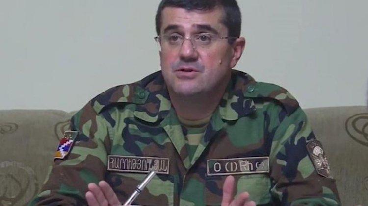 Karabağ'ın sözde liderinden itiraf: Kaybettik... Düzinelerce ölümüz var