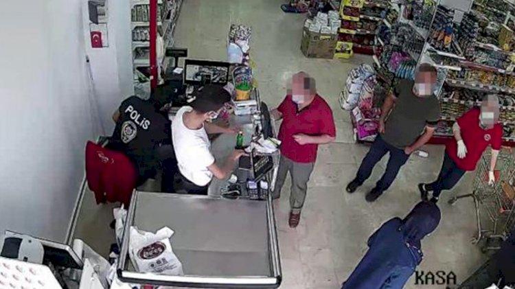 Karantina'dan kaçtı, markette yakalandı