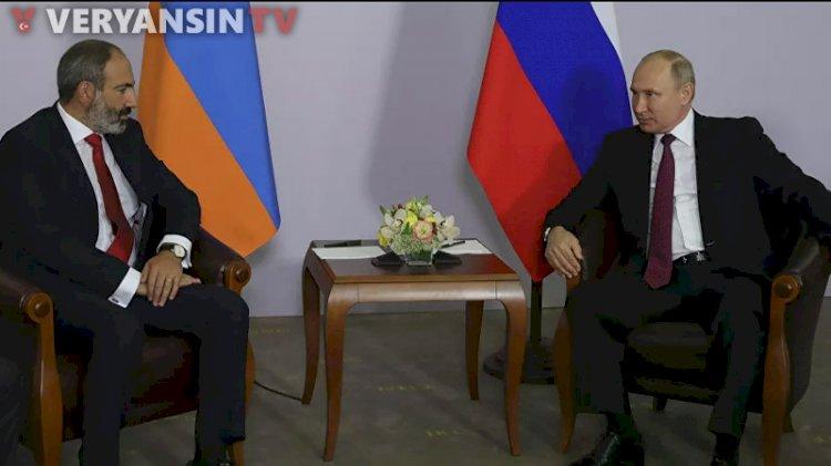 Putin, Paşinyan ile Karabağ'ı görüştü