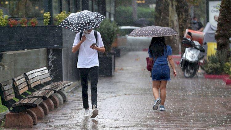 Meteoroloji uyardı: Sel, dolu ve yıldırıma dikkat