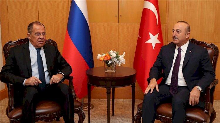Çavuşoğlu ve Lavrov'dan 'Karabağ' görüşmesi