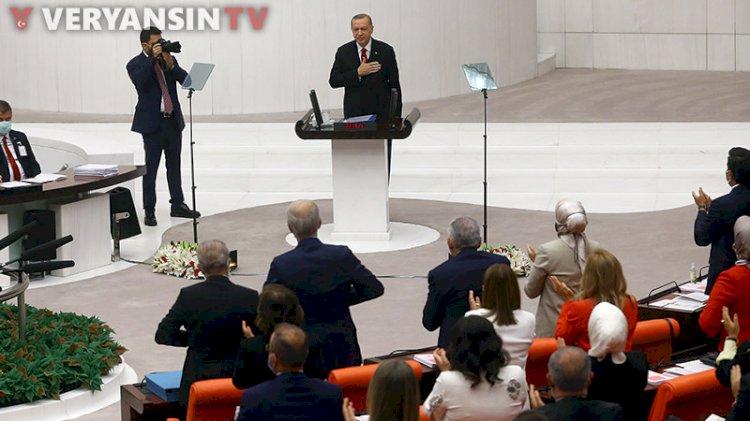 Erdoğan Meclis'e girerken ayağa kalkmayan tek İyi Partili