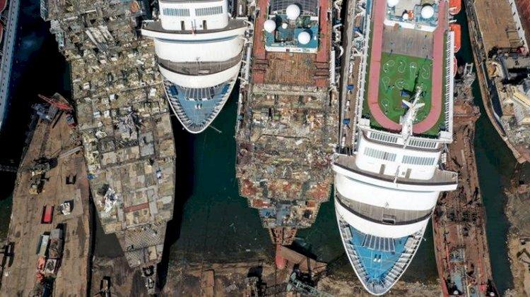 Cruise gemileri koronavirüs yüzünden sökülüyor