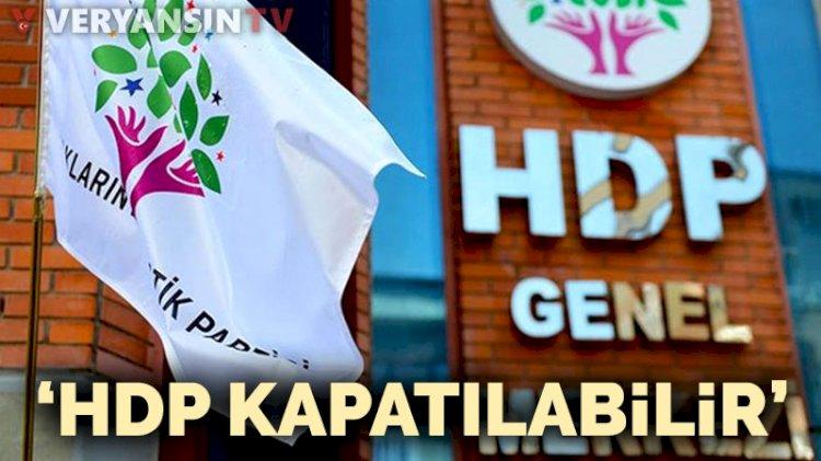 'HDP bu kez kapatılabilir'