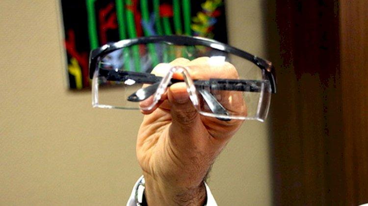 Koronavirüs için 'şeffaf gözlük' önlemi