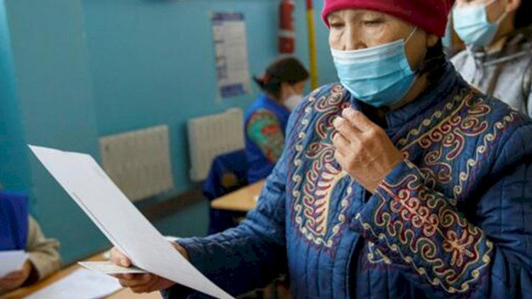 Kırgızistan sandık başında