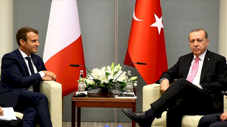 'Macron Erdoğan ile ilişkisinde sıkletinin üzerinde yumruk sallayan bir boksör görüntüsü veriyor'