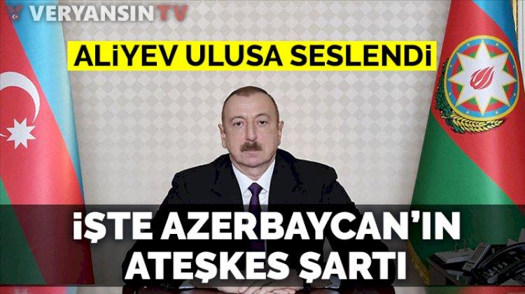 Aliyev: Cebrail şehri ve 9 köy işgalden kurtarıldı