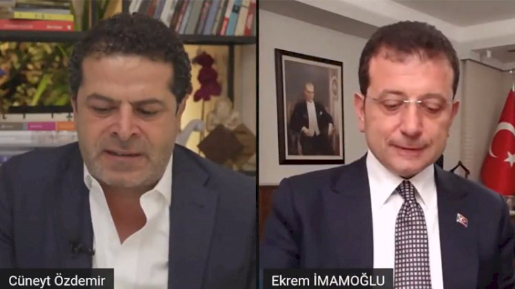 Cüneyt Özdemir'den İmamoğlu'nu kızdıran soru