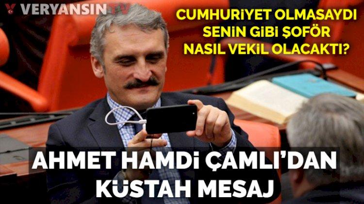 Ahmet Hamdi Çamlı, İstanbul'un kurtuluş gününde Cumhuriyet'i hedef aldı