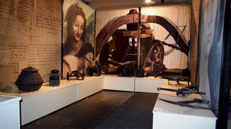 'Leonardo Da Vinci'ye Saygı' sergisi başkentte