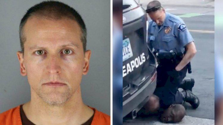 George Floyd'un ölümüne sebep olan polis Derek Chauvin serbest bırakıldı!