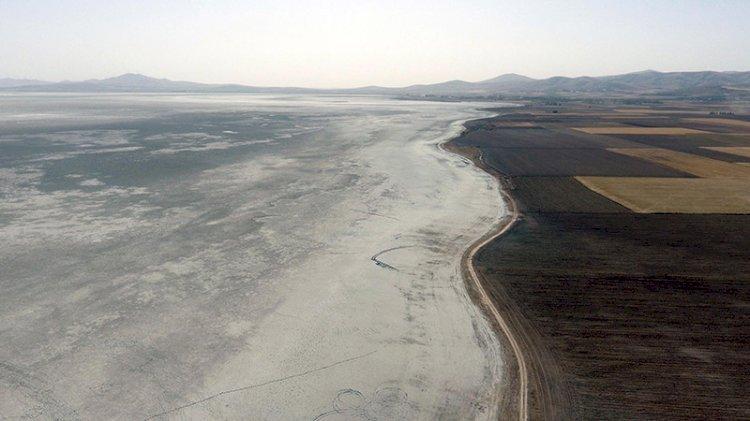 187 tür kuşa ev sahipliği yapan göl tamamen kurudu!