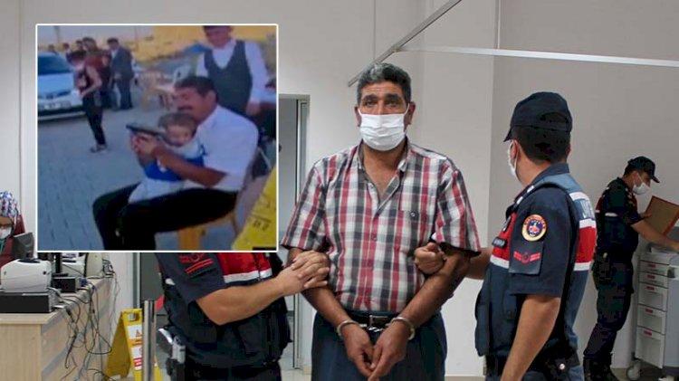 'Şimdiden alışıyor koçum'... Torununa silahla ateş ettiren dede serbest bırakıldı