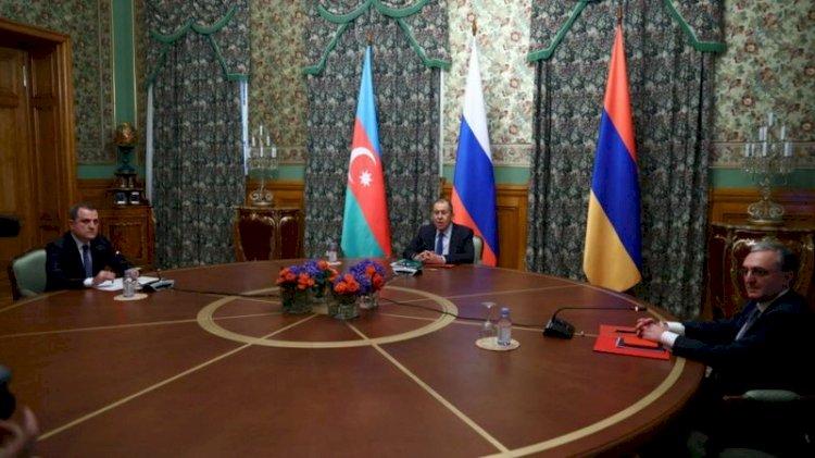 Rus Dışişleri: Lavrov, Azerbaycan ve Ermenistan dışişleri bakanlarıyla Karabağ'ı görüştü