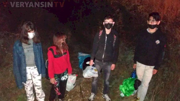 Uşak'ta kayıp olarak bildirilen çocuklar Kütahya'da bulundu
