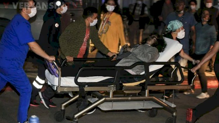 Ankara'da Dışkapı Hastanesi'nde yangın