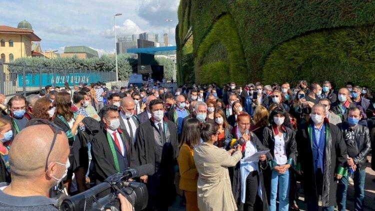 İstanbul Barosu seçimlerine gelen avukatlara izin verilmedi