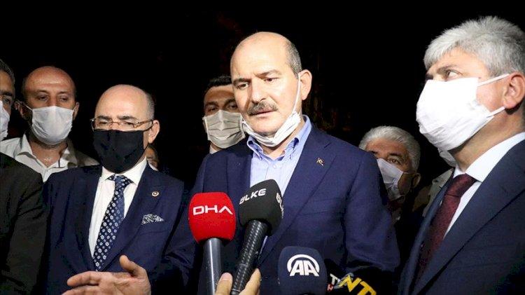 Bakan Soylu'dan Hatay'daki yangına ilişkin açıklama: Şu anda 2 kişi gözaltında