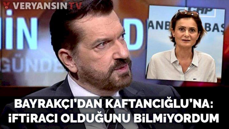 Hakan Bayrakçı'dan Kaftancıoğlu'na yanıt: İftiracı