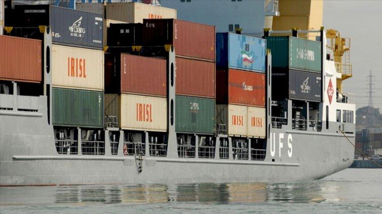 İlk kez yola çıktı...BAE'den İsrail'e kargo gemisi