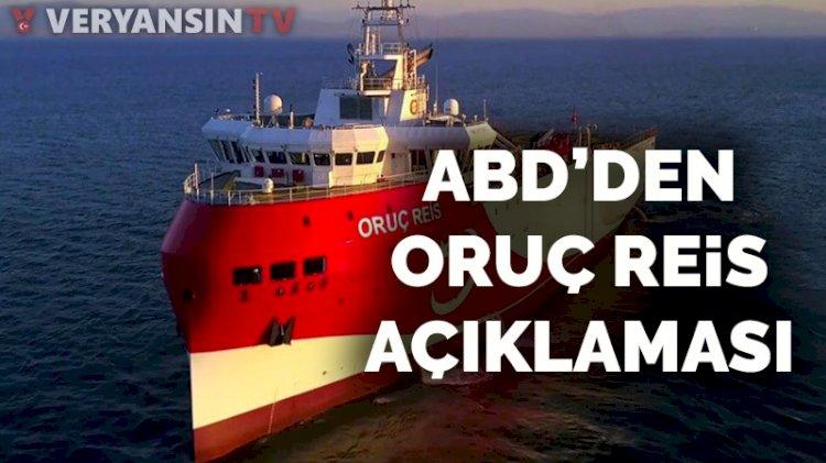Oruç Reis yola çıktı, ABD Türkiye'yi hedef aldı