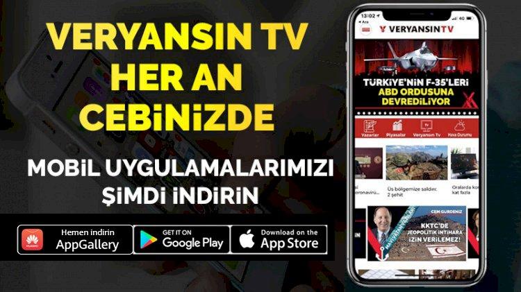 Veryansın TV mobil uygulaması yayında