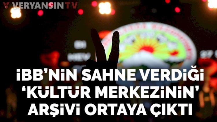 İBB'nin izin verdiği MKM'nin arşivi PKK propagandasıyla dolu