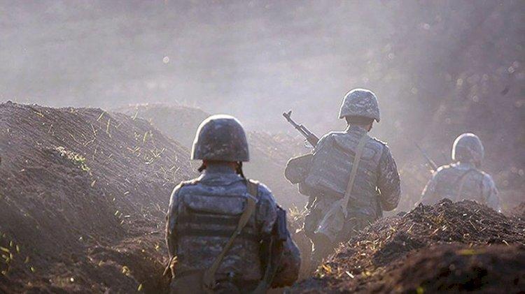 Cephe hattında ağır kayıp veren Ermenistan mezarlıktaki sivilleri vurdu