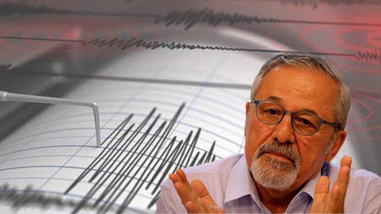 Prof. Dr. Naci Görür'den deprem yorumu: Rahatsız edici