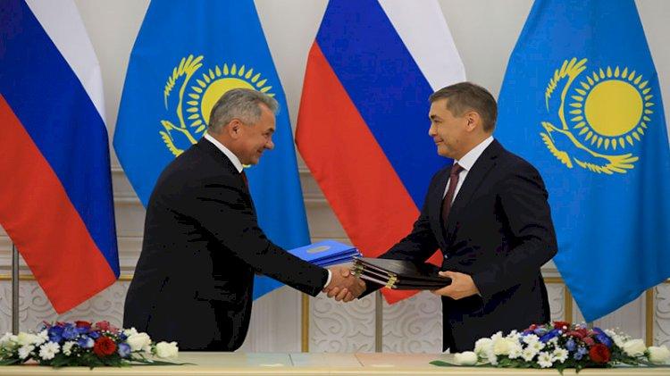 Kazakistan ile Rusya arasında askeri iş birliği anlaşması