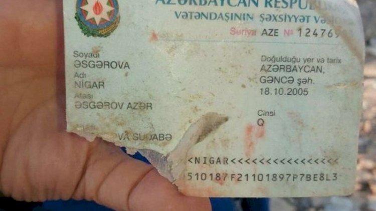 Gence saldırısından geriye kalanlar: Yarın doğum günüydü, sadece kimlik kartı bulunabildi