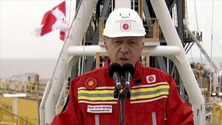Erdoğan yeni bulunan doğal gaz rezervini açıkladı