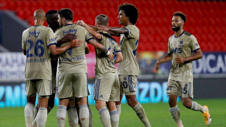 Fenerbahçe, zorlu karşılaşmada Göztepe'yi yendi