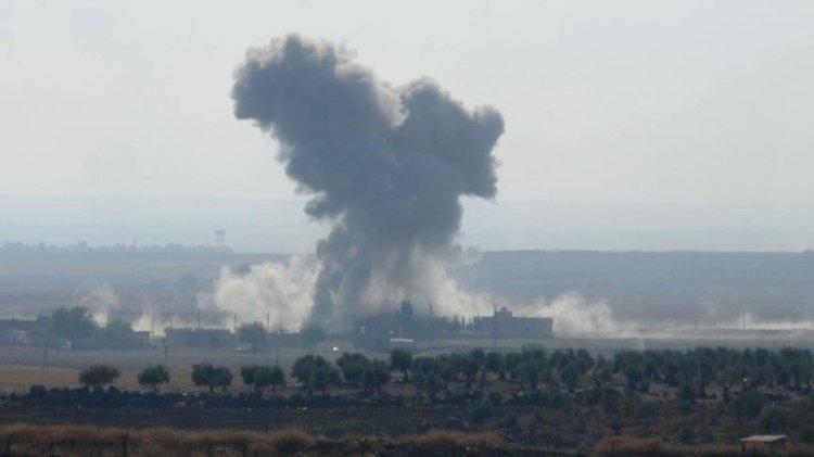 ABD Suriye'de katliam yaptı Anadolu Ajansı 'teröristler vuruldu' dedi