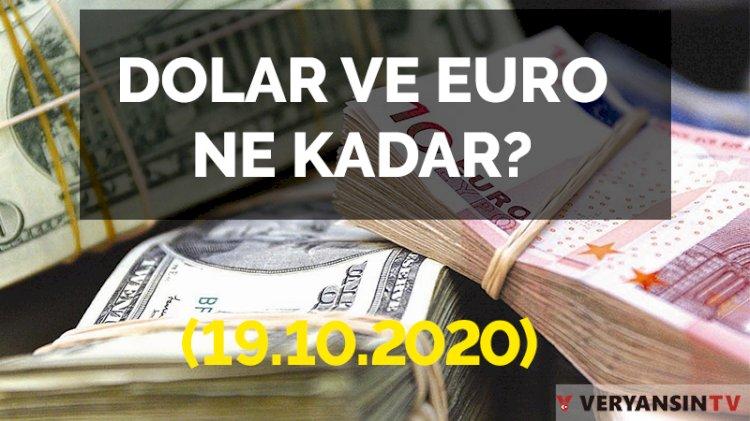 Dolar, euro bugün ne kadar?