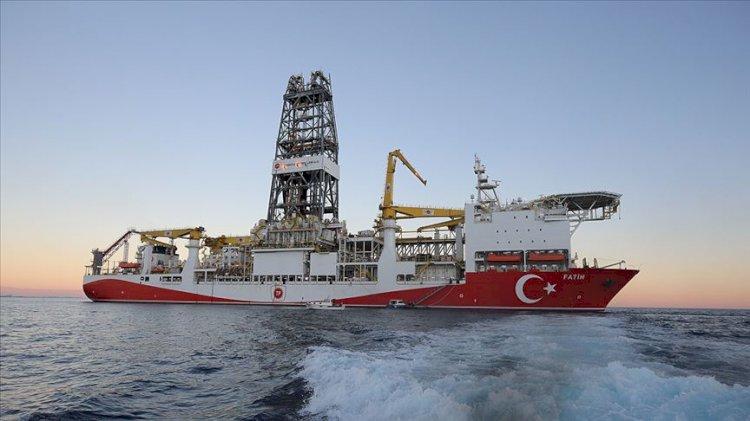Fatih Sondaj Gemisi Zonguldak açıklarında