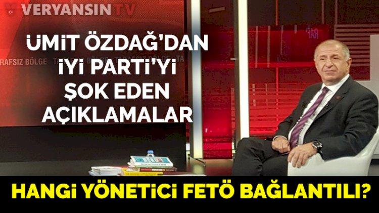 Ümit Özdağ, İyi Parti İstanbul İl Başkanı Buğra Kavuncu'ya 'FETÖ'cü' dedi