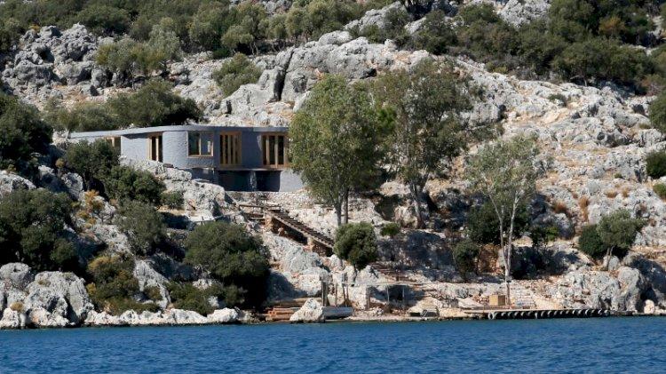 Doğa harikasına İngiliz şirketten kaçak villa