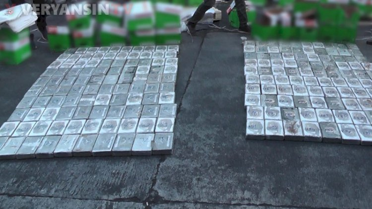 Mersin'de 220 kilogram kokain ele geçirildi