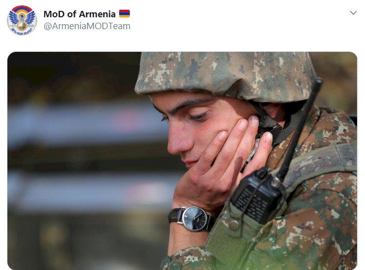Ermenistan Savunma Bakanlığı paylaştı: Yenilginin fotoğrafı!
