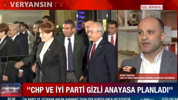CHP, HDP ve İyi Parti 'Açılım Anayasası' hazırlayacaktı iddiası