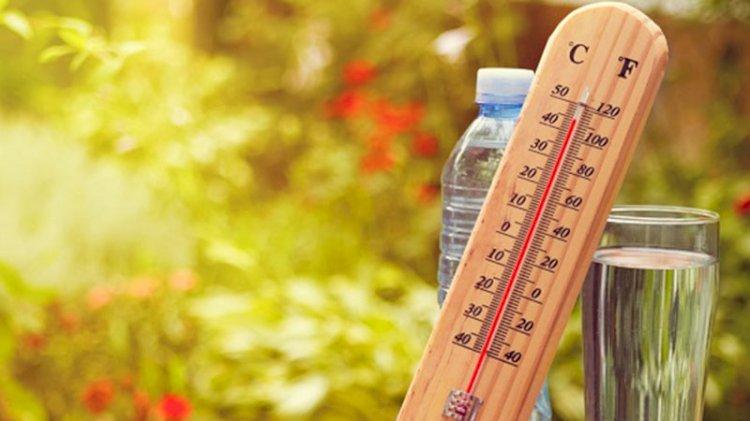 Sıcak havalar geri dönüyor