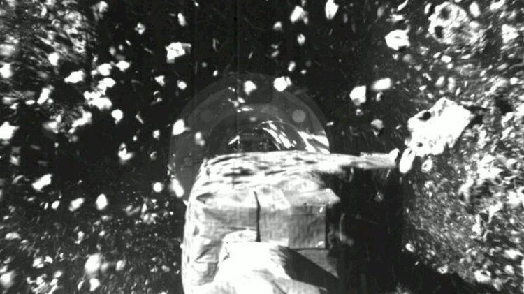 NASA'nın OSIRIS-REx uzay aracından yeni görüntüler