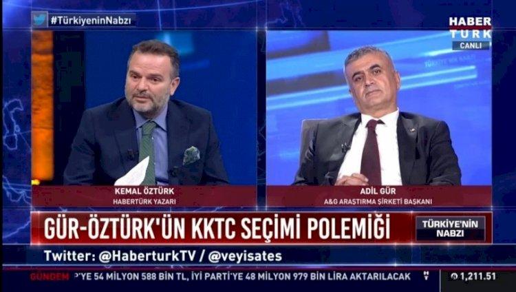 Canlı yayında gergin anlar…Kemal Öztürk ile Adil Gür birbirini suçladı