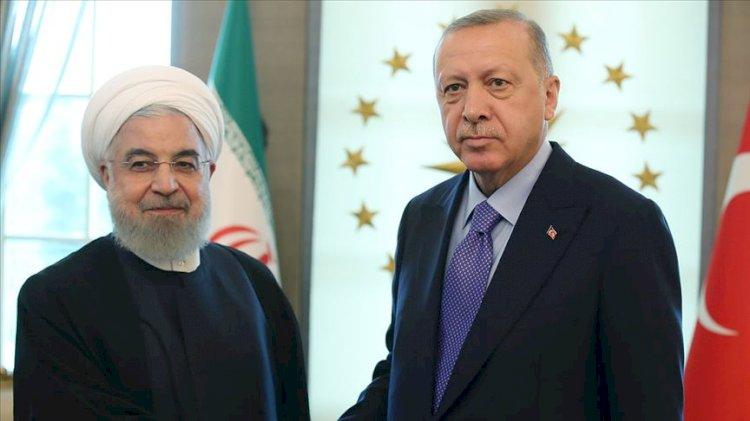 Erdoğan ve Ruhani'den 'Azerbaycan' görüşmesi
