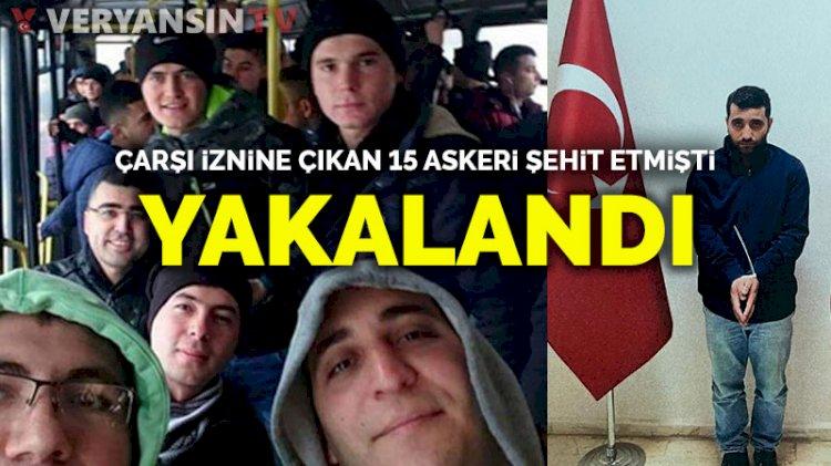 15 askeri şehit eden PKK'lı Ferhat Tekiner MİT operasyonuyla yakalandı