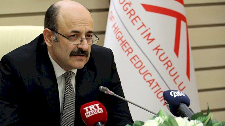 YÖK Başkanı'ndan 'yüksek lisans' açıklaması